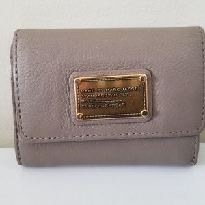 Marc by Marc Jacob Classic Trifold Leather Wallet